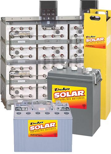 Deka蓄电池 Solar系列